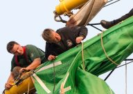 Alex 2 - Sail Training - Tall Ship - Mast