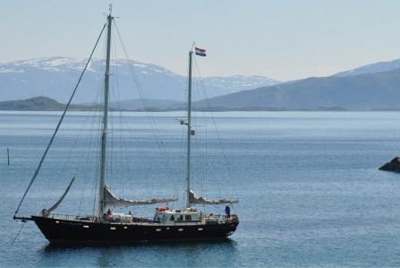 Sailing Ship in the Tropics
