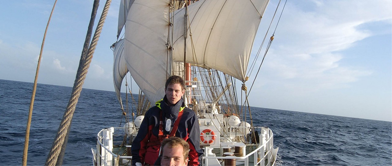 Trainees on the StavrosSNiarchos