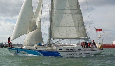 Thermopylae Clipper sailing yacht Windseeker