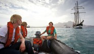 Dingy, rib with Oosterschelde crew