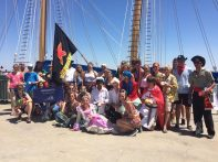 morgenster-EU-exchange-crew-parade-trainees-tall-ships-races