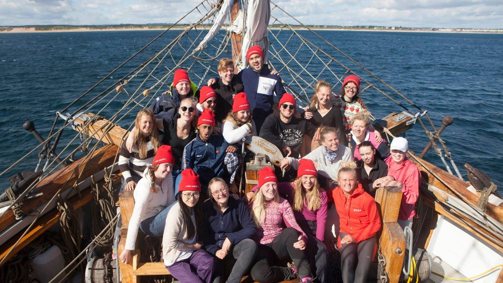 Sail Training Tall Ship - Vega Gamleby - Windseeker