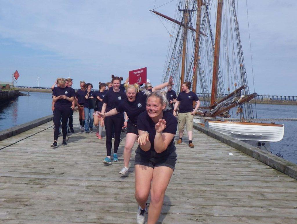 crew parade vega gamleby tall ships races