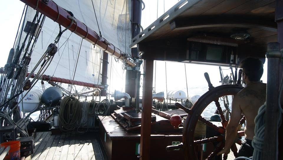 Atyla boat ship sail training Windseeker