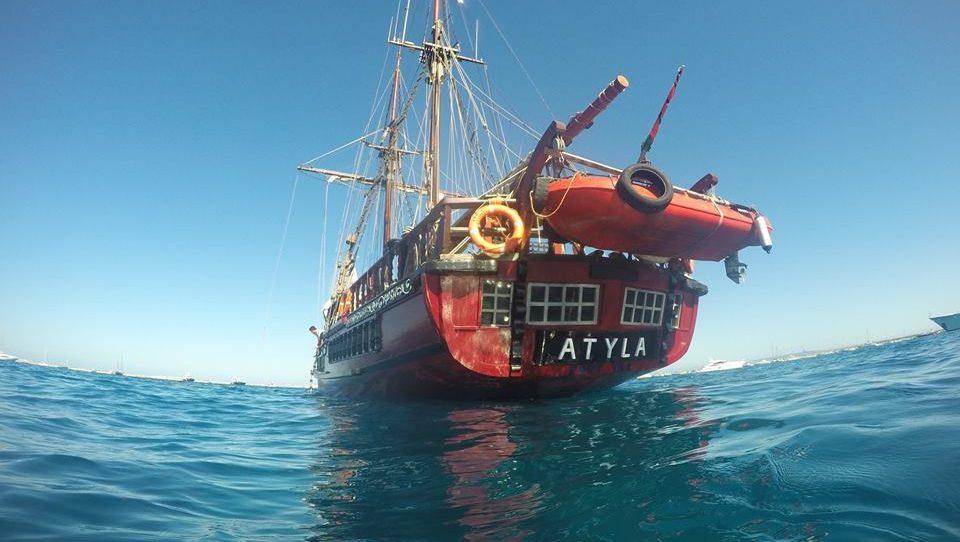 Atyla sea water sail training Windseeker