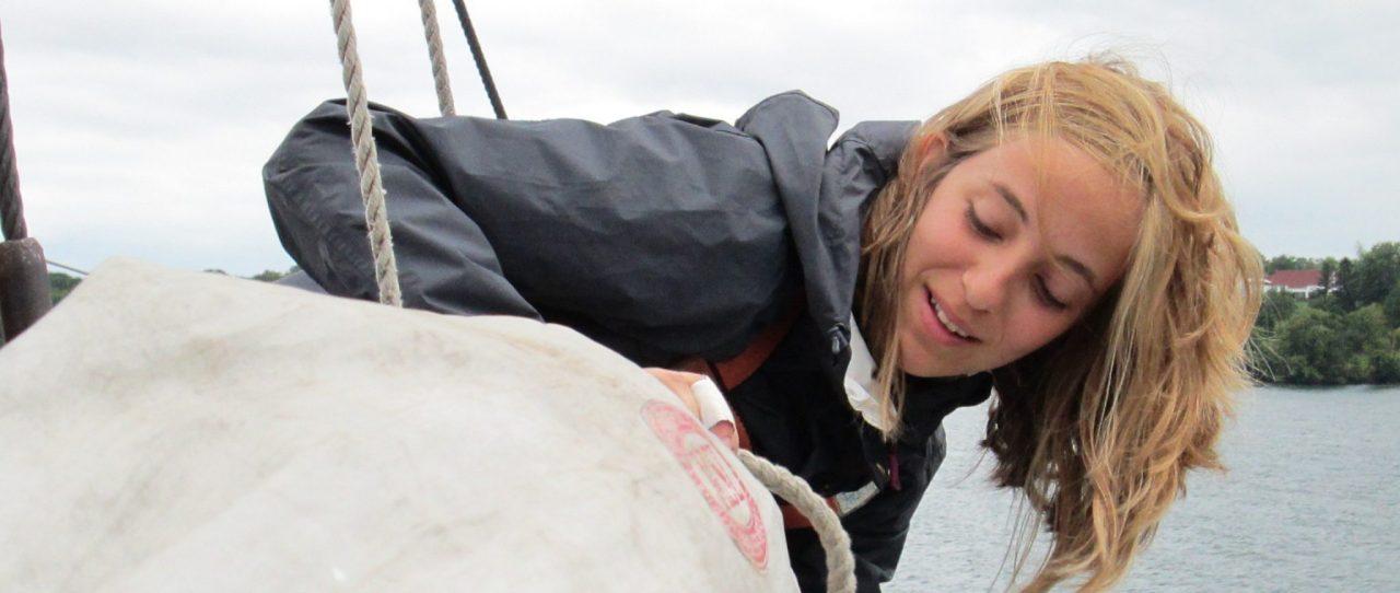 Fair Jeanne trainee sails