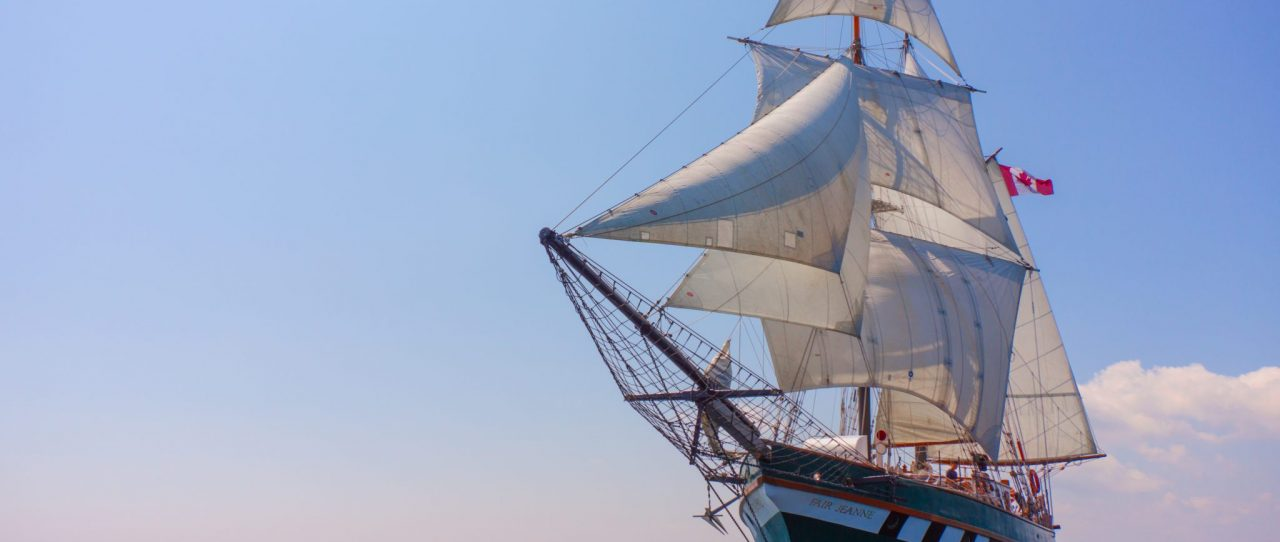 Fair Jeanne Sailing
