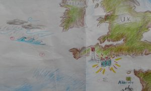 Gulden Leeuw Atlantic Crossing Journey Map Windseeker