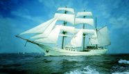 Tall Ship Artemis Sailing