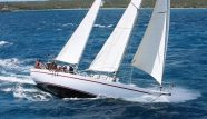 Picture of a sailing vessel Adventure Wales under sails