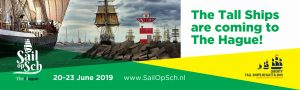 Banner of the Sail Op Scheveningen event