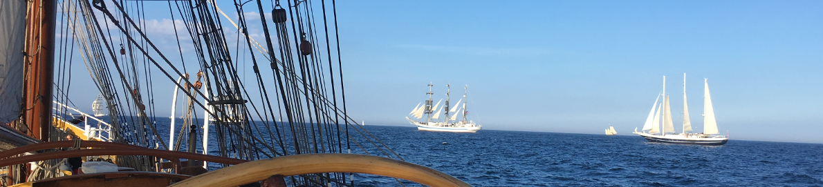 Pictures of Tall Ships sailing in the Tall Ships Races 2018